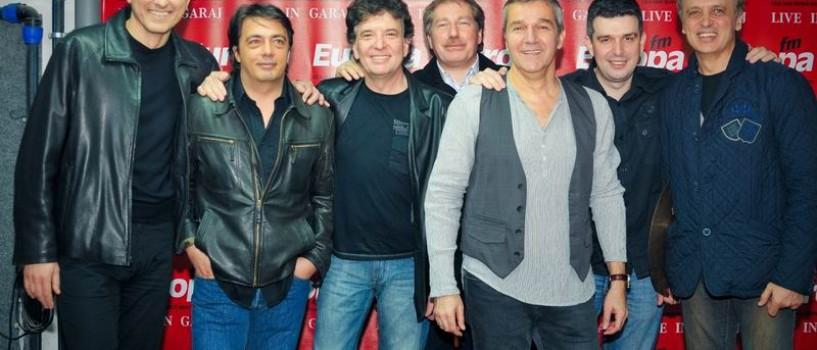 Holograf a cantat ca la inceputuri in garaj la Europa FM