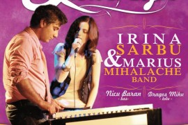 """Live in The Lounge"" – cu Irina Sarbu & Marius Mihalache band, la The Ark"
