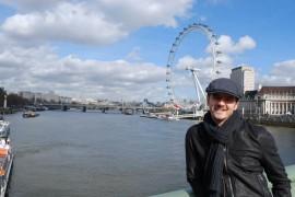 """Mihai Petre si-a """"hranit"""" pasiunea pentru istorie la Londra"""