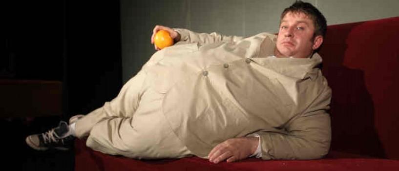 "Pavel Bartos – nevoit sa ajunga la 170 kg pentru rolul din ""Natura moarta cu nepot obez"""