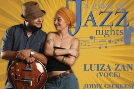 """A glass of Jazz"" continua cu Luiza Zan, la The Ark"