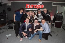 Duet de zile mari cu Loredana si fiica ei Elena, aseara, in garajul Europa FM!