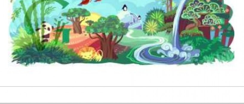 Google celebreaza Pamantul prin logo-ul special de astazi!