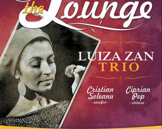 """Live in The Lounge"" – cu Luiza Zan Trio, la The Ark"