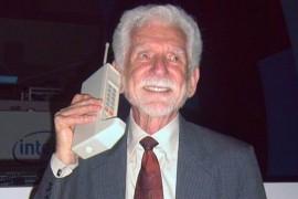 38 de ani de la primul apel efectuat de pe un telefon mobil!