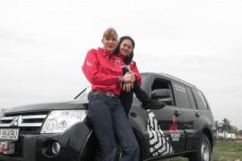 Roxana Ciuhulescu participa la raliul off-road BGS de la Codlea
