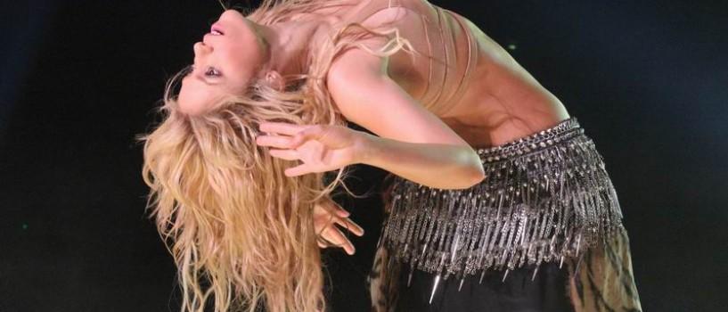A mai ramas doar o luna pana la concertul Shakira!