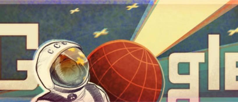 Google il celebreaza astazi pe Yuri Gagarin