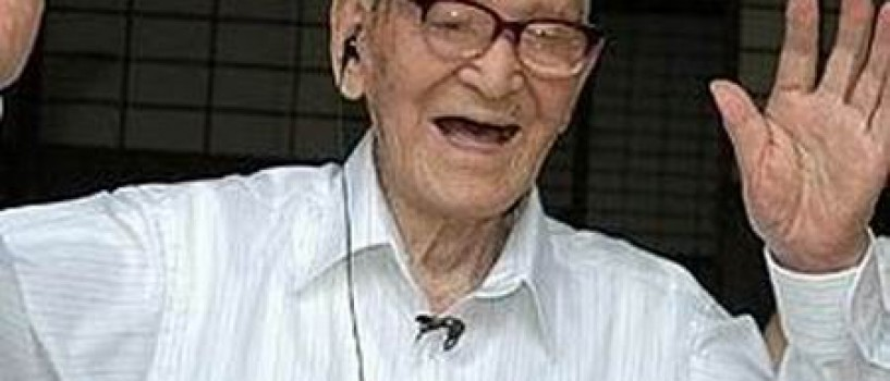 Jiroemon Kimura este noul stra-stra-bunic al lumii!