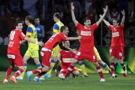 Finala Steaua – Dinamo, cel mai urmarit meci de fotbal din ultimii 2 ani!