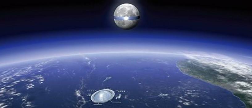 "Japonezii vor sa-i puna Lunii ""inel"" din panouri solare!"