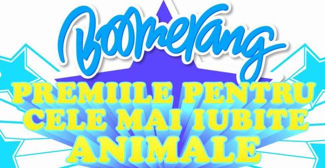 Pe 4 iunie, Boomerang premiaza cele mai iubite animale!