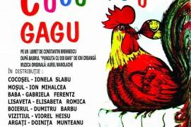"""""""Cucurigu Gagu"""" revine la Palatul National al Copiilor"""
