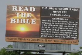 O noua data pentru sfarsitul lumii: 21 mai 2011…