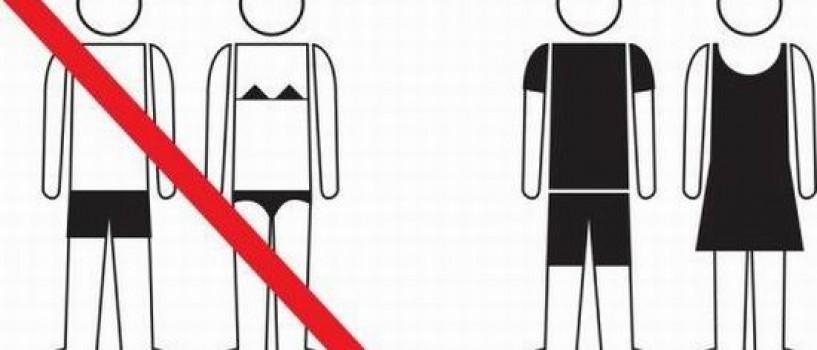 In Barcelona platiti amenda daca va plimbati in bikini pe strada!