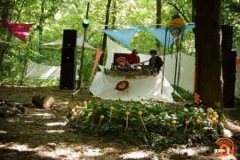 Relaxare in hamac la B'ESTFEST Summer Camp!