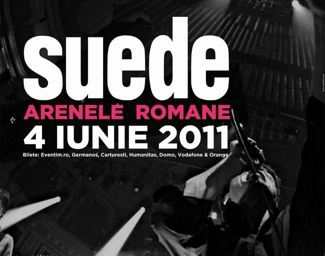 Reguli de acces la concertul sustinut de Suede la Bucuresti!