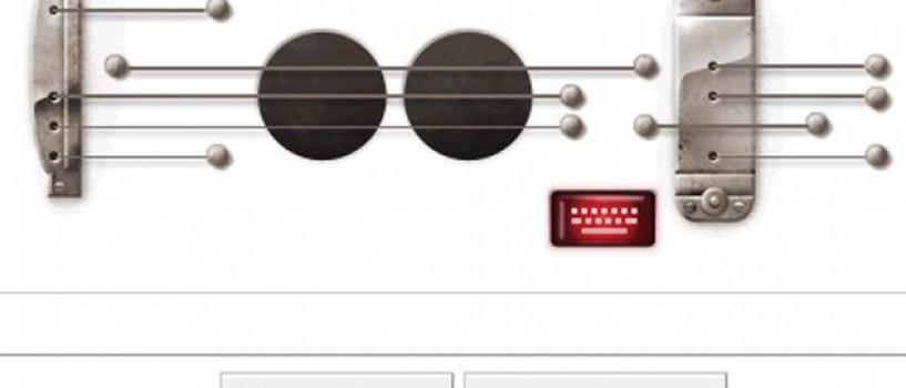 Google va invita astazi sa exersati la chitara!
