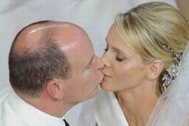 Camera de 5.000 de euro/noapte pentru Albert si Charlene de Monaco!