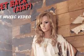 Alexandra Stan a primit Discul de Platina pentru single-ul Mr. Saxobeat in Italia