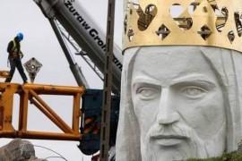 Croatii din Split nu vor statuia lui Iisus!