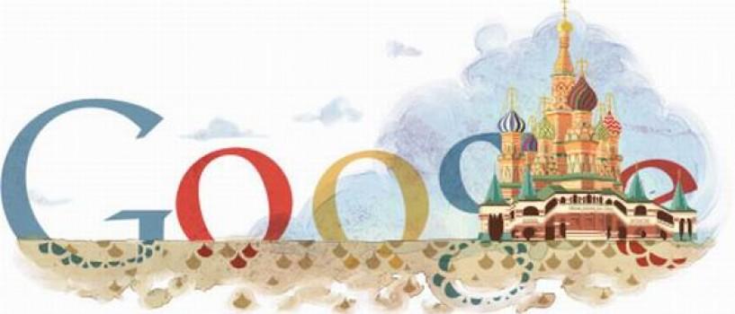 Google celebreaza 450 de ani de existenta a Catedralei Sf. Vasile din Moscova