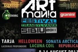 Mai multe concerte la ARTmania Festival Sibiu 2011!