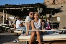 Laura Cosoi şi Smiley s-au rasfatat cu o vacanta in Sardinia!