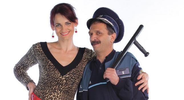 Elvira Deatcu si Radu Gabriel - un cuplu plin de umor in