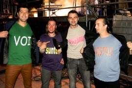 Trupa Vunk a fost imbracata de fani la Gala Romanian Top Hits!