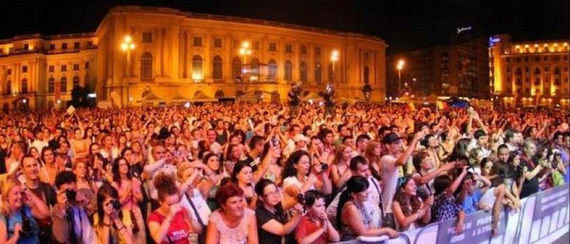Aproape 5 000 de fani au participat aseara la evenimentul tribut Amy Winehouse!