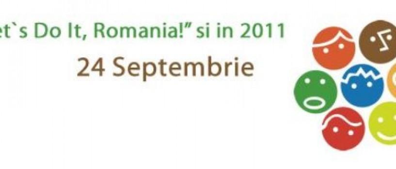 Au mai rămas 2 zile până la Ziua de Curățenie Națională. Let`s Do It, Romania!