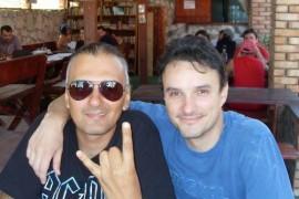 """""""Mondenul"""" Angel Popescu si-a incarcat bateriile pe litoralul romanesc!"""