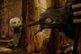 Mirai Mizue, Montgomery Clunk şi Res Es la Creepy Animation Night 3