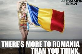 De 1 Decembrie, Alexandra Stan arata lumii o alta fata a Romaniei!