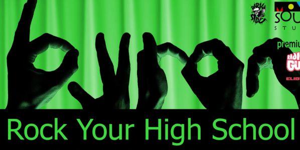Concert byron și finala Rock Your High School 2011 pe 19 noiembrie în Club Fabrica