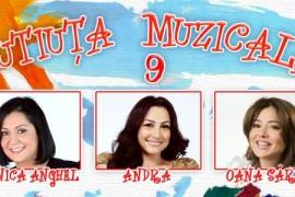 In luna decembrie se lanseaza volumul 9 al Cutiutei Muzicale!