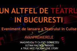 In Culise – un nou teatru independent se adauga pe harta culturala a Bucurestiului!