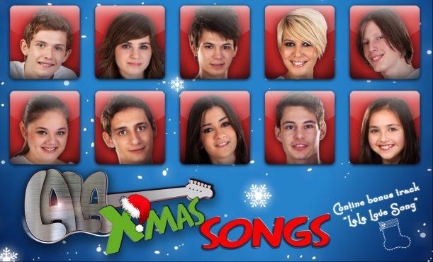 LaLa Band se pregateste pentru lansarea albumului LaLa X-mas Songs!
