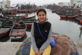 Amalia Enache si-a petrecut vacanta de iarna in Maroc