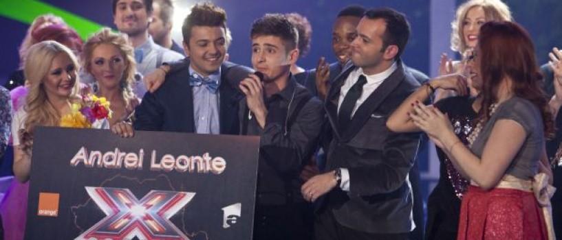 Andrei Leonte este primul câștigător X Factor!