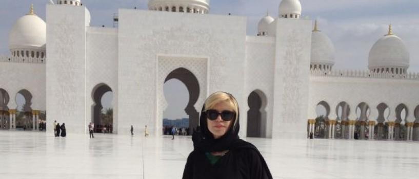 Loredana si-a petrecut vacanta de iarna in Emiratele Arabe Unite!