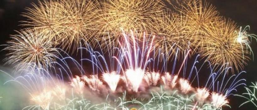 2012 intampinat cu focuri de artificii spectaculoase in toata lumea! (VIDEO)