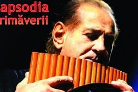 Gheorghe Zamfir sustine concertul Rapsodia Primaverii la Sala Palatului