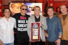 "HOLOGRAF a primit Discul de Aur pentru albumul ""Love Affair""!"