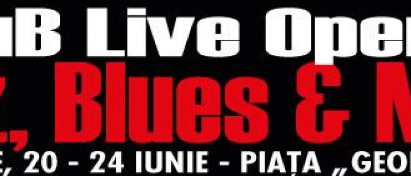 Maine incepe prima editie a ArCuB Live Open Air – Jazz, Blues & More