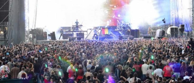 Linkin Park: concert incendiar, aseara, la Romexpo!