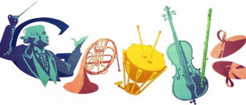 Google îl sărbătoreşte pe Sergiu Celibidache printr-un logo special!