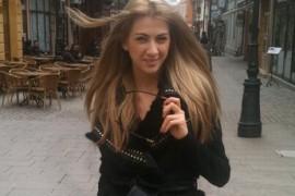 O italiancã îşi încearcã norocul la Next Top Model by Cãtãlin Botezatu!