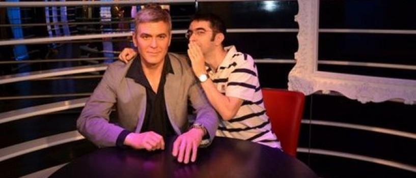 Misu Gainusa l-a convins pe George Clooney  sa apara la Cronica Carcotasilor!